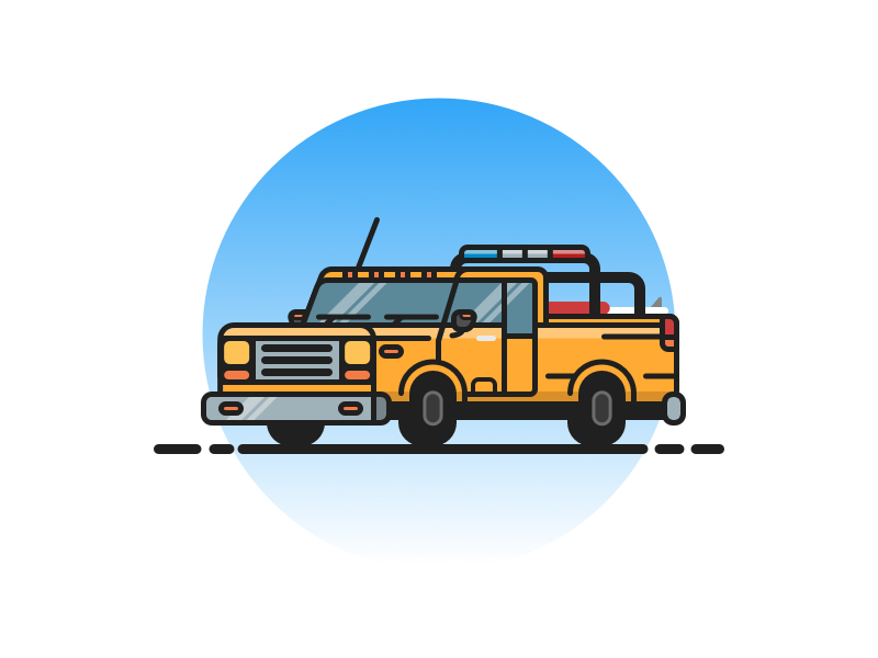 Life Guard Truck the hoff car vector outline vehicle truck illustration bay watch life guard beach rescue