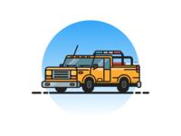Life Guard Truck