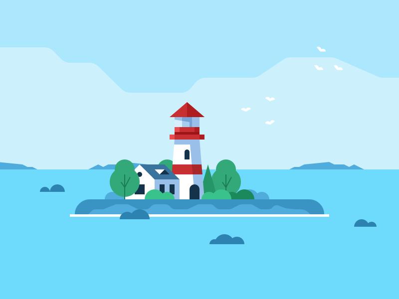 Mattisbodtker lighthouse