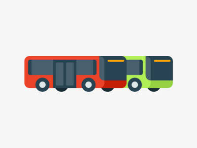 Oslo Buses 🚌 busses graphic design vector vehicles simple illustration oslo public transport transport tram bus subway transit metro