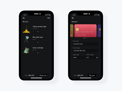 Daily UI Challenge   Check-out ecommerce pay card cart checkout application uxdesign ux uiux uidesign ui simple dailyuichallenge appdesign app