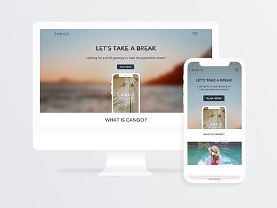 Daily UI Challenge   Landing Page webdesign responsive web design landingpage application uxdesign ux uiux uidesign ui simple dailyuichallenge appdesign app