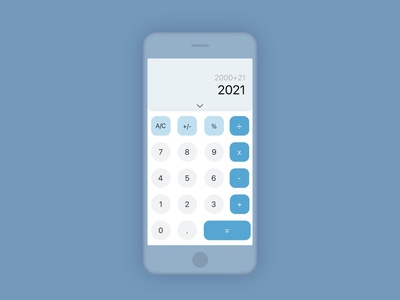 Daily UI Challenge   Calculator calculator app calculator ui calculator application uxdesign ux uiux ui uidesign simple dailyuichallenge appdesign app
