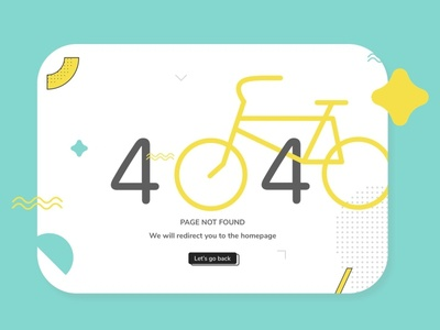 Daily UI Challenge | 404 Page website minimal responsive website error page 404page webdesign design uxdesign ux uiux uidesign ui simple dailyuichallenge