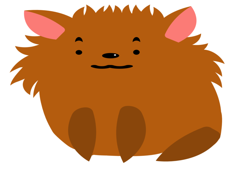 Todays Mood puppy scared meme cute illustration confused pomeranian dog adorable simple design cute