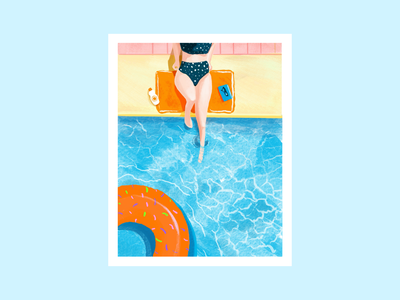 Summer 2020 procreate illustration