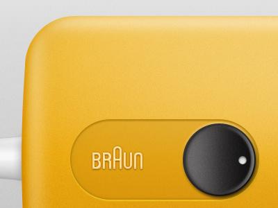 Hair Dryer braun icon yellow product tallman