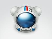 Spacebear helmet