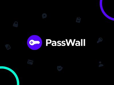 PassWall Logo Animation Exploration branding design logo dark mode password password manager logo animation animation