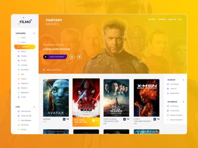 Filmo - Movie Web UI
