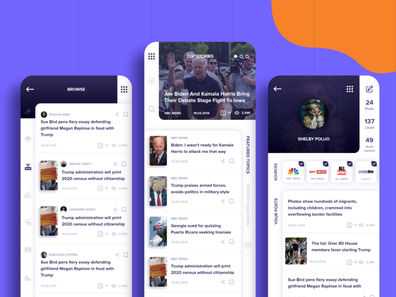 Political News App