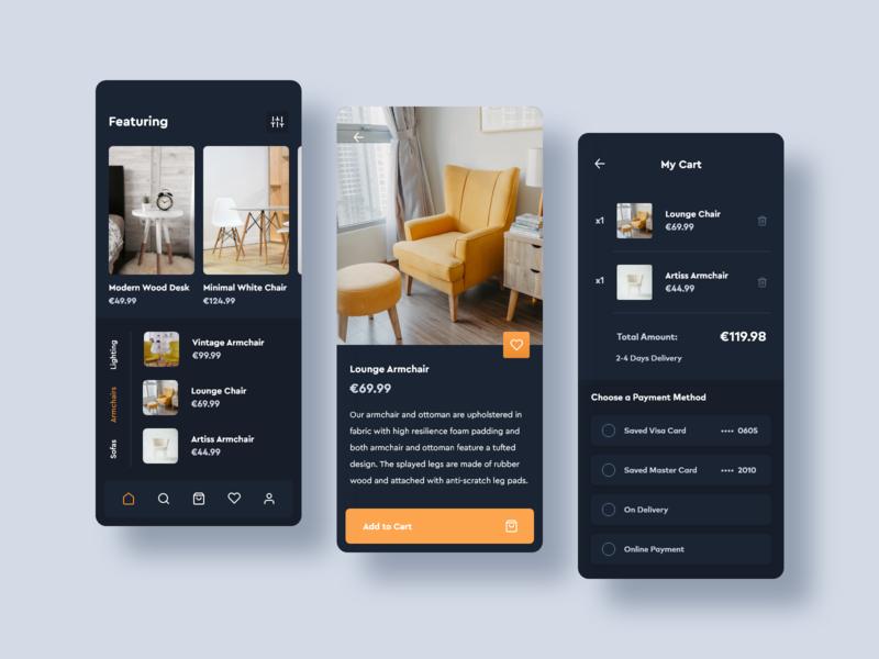 Exclusive Furniture Store Concept App