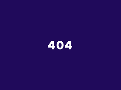 404 Page Animation