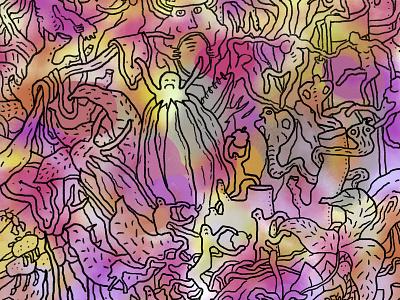 smthng surrealistic symbol sdeviano creature street art streetart blackandwhite illustrator creative doodle doodling illustration character