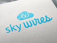 Sky Wires Logo Design