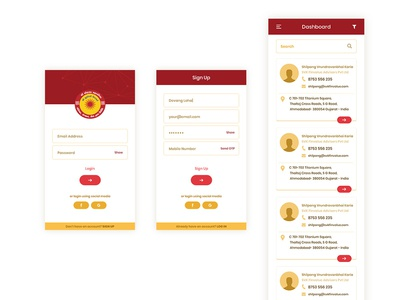 Directory App Concept