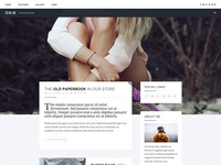 Personal WordPress Theme Design