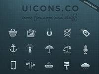 Icon Set Preview 'UICONS'