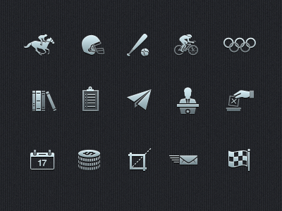 Icon Set Update icons ui user interface iconography colour