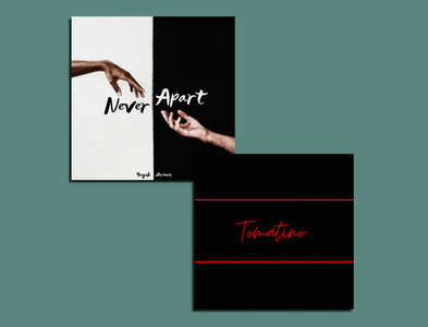 Cover Art itunes spotify music typography colorful minimal illustration logo