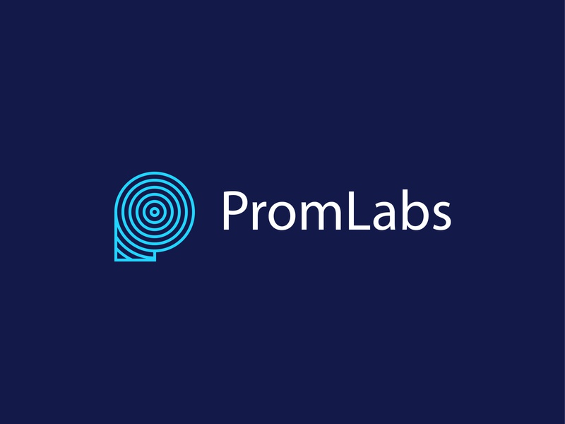 PromLabs | Logo design start up branding design inspiration clean business open source metrics graphic design branding logotype logo minimalism creative professional system tool services software company logo company
