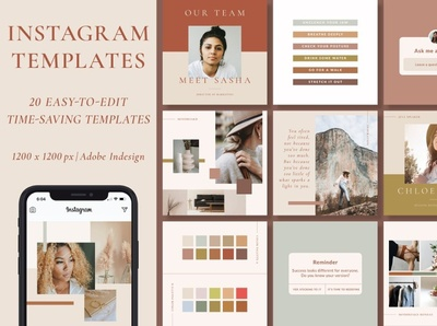 Instagram Templates | Customizable professional elegant modern creative digital art design branding social media pack social media template social media posts stories instagram stories template instagram stories pack instagram templates instagram banner instagram post instagram stories instagram template instagram