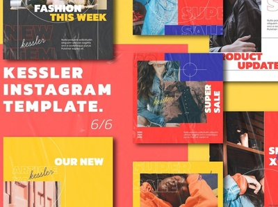 KESSLER Instagram Post Stories art design blogger blog fashion digital art branding social media template social media pack social media posts stories templates template instagram story template instagram banner instagram template instagram stories instagram post instagram