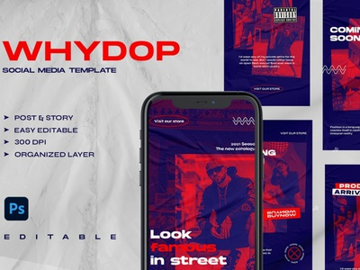 WHYDOP - Instagram Stories & Post art professional blogger blog stories social media instagram banner instagram post instagram template digital art design instagram posts template instagram stories template instagram stories pack instagram posts instagram stories template instagram story template instagram story instagram