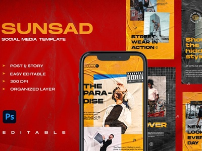 SUNZAD - Instagram Stories & Post design professional unique blogger blog branding social media pack social media template social media post story instagram post design instagram posts template instagram post template instagram posts instagram banner instagram template instagram stories instagram post instagram
