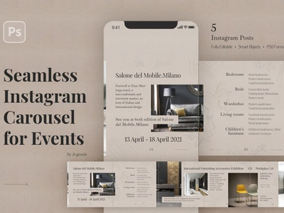 Events. Instagram Carousel Template social media templates social media design social media pack social media template social media post story stories template instagram post template instagram posts instagram story instagram story template instagram templates instagram stories instagram banner instagram post instagram template instagram event