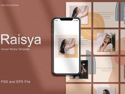 Raisya - Instagram Post Template photoshop social media template social media pack stories social media digital art design instagram post design instagram posts template instagram post template instagram posts posts post instagram story template instagram templates instagram banner instagram stories instagram post instagram template instagram