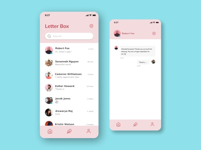 Letterbox_chatbox ui chat ui chat messages interface messaging app mobile ui messenger messaging mobile app design mobile app inbox app uiux app design app app ui chatapp chatbox graphic design ux ui