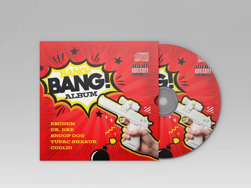 Free Rap CD Cover Template music hiphop rap cd packaging cd artwork cd design cd cover cd design psd template free psd templates free psd