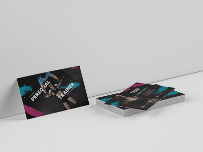 Free personal trainer business card template personal training personal trainer fitness sports branding sport business card design business cards business card businesscard business branding psd template free psd templates free psd
