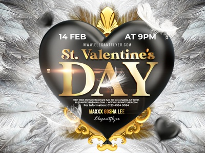 Free St Valentines Day Flyer and Social Media teplates free flyer template free flyers flyer designs 14 february happy valentines day valentines day valentinesday valentine day valentines valentine social media design party event design free psd templates psd template free psd