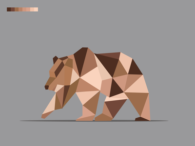 vector animal#2 vector portrait illustration web app icon typography ux branding ui logo