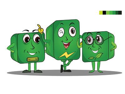 Green Character Design design vectorart illustration art designer character designer green animation charactor illustrations vector art illustration animation characterdesign cheracters character