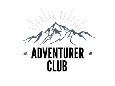 Adventurer Club Logo For Travelling Company company branding design illustration logo