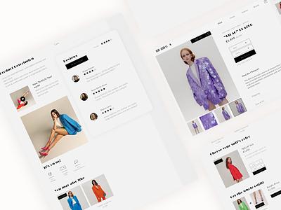 The ATTICO - ecomerce online shop 🦩 product product page online shopping fashion app ecommerce online shop ui design ui design