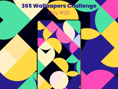 365 Wallpapers Challenge - Day #39 mobile 365 daily challenge affinity designer affinitydesigner 365 wallpaper wallpaper design wallpapers challenge