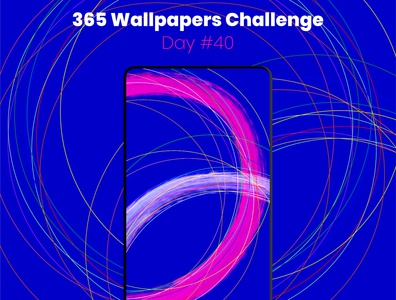365 Wallpapers Challenge - Day #40 365 daily challenge mobile affinity designer affinitydesigner 365 wallpaper wallpaper design wallpapers challenge