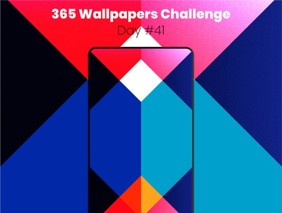 365 Wallpapers Challenge - Day #41 mobile 365 daily challenge affinity designer affinitydesigner 365 wallpaper wallpaper design wallpapers challenge