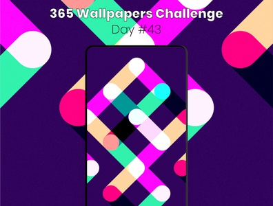 365 Wallpapers Challenge - Day #43 mobile 365 daily challenge affinity designer 365 affinitydesigner daily wallpaper wallpaper design wallpapers challenge