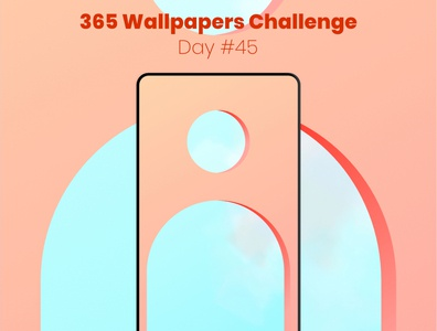 365 Wallpapers Challenge - Day45 mobile 365 daily challenge affinity designer affinitydesigner 365 daily wallpaper wallpaper design wallpapers challenge