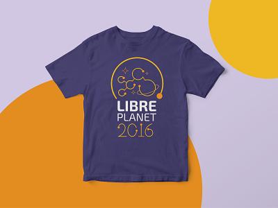 Libreplanet 2016 2016 tshirt design opensource fsf inkscape