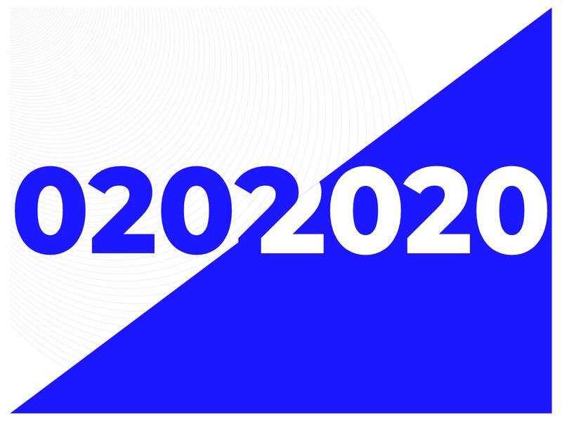 02022020 2020 rare date strange