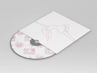 Dancer CD Mockup
