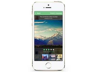 Uptous Album View mobile app album pictures rating ios