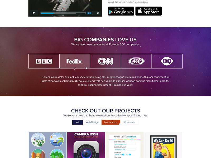 fullpage2 type typography photoshop web branding website logo design