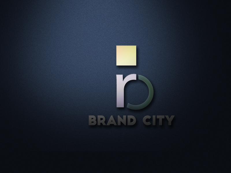 brand city4 illustration typography art vector branding website photoshop web logo design